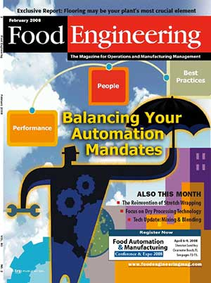 Food Engineering Magazine (Feb 2008)
