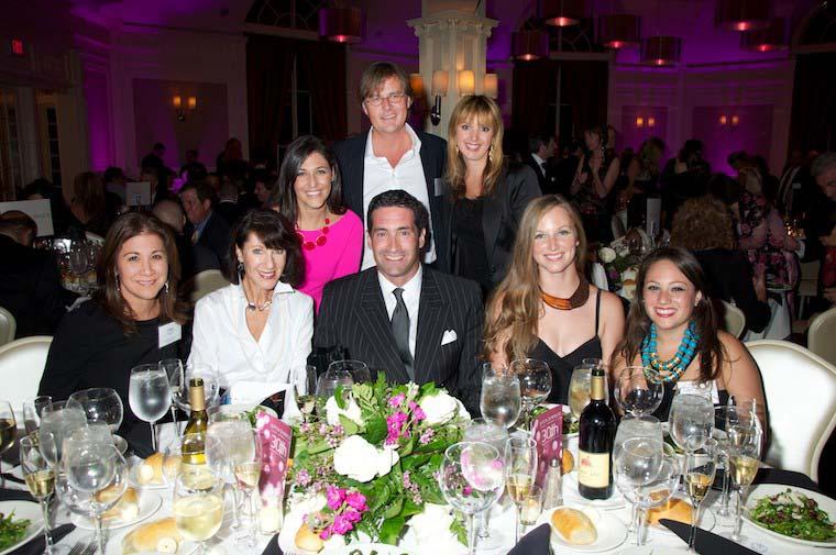 Open Dinner Celebration Group Shot